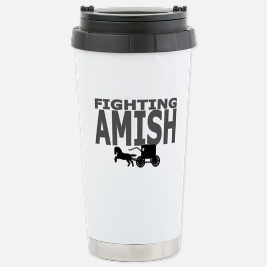 Amish Stainless Steel Travel Mug