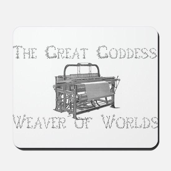Loom Goddess Mousepad