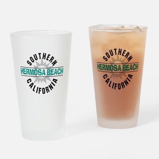 Hermosa Beach California Drinking Glass