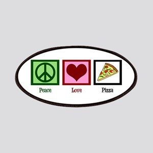 Peace Love Pizza Patches