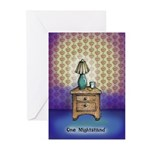 One Nightstand Greeting Cards
