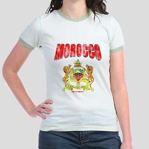 Moroccan Crest Jr. Ringer T-Shirt