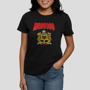 Moroccan Crest Women's Dark T-Shirt