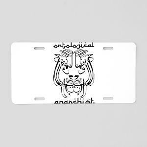 Ontological Anarchist Sufi Li Aluminum License Pla