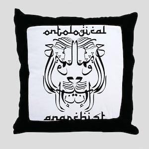 Ontological Anarchist Sufi Li Throw Pillow