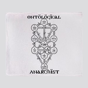 Ontological Anarchist Tree of Throw Blanket