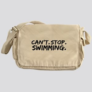 Can't Stop Swimming Messenger Bag
