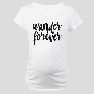 Wander Forever Maternity T-Shirt