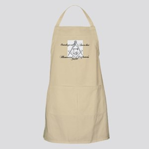 Ontological Anarchist Illumin Apron