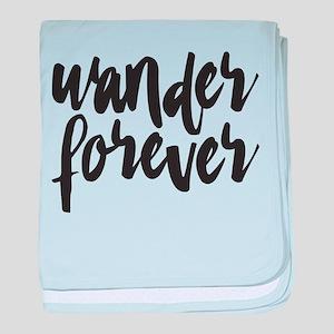 Wander Forever baby blanket
