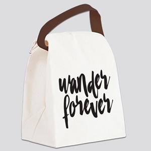 Wander Forever Canvas Lunch Bag