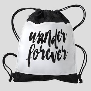 Wander Forever Drawstring Backpack