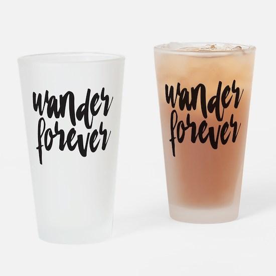 Wander Forever Drinking Glass