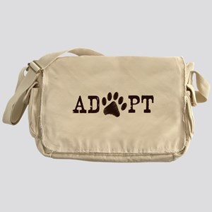 Adopt an Animal Messenger Bag