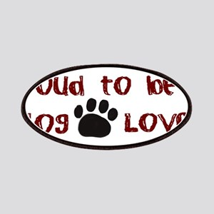 Proud Dog Lover Patches