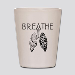 Breathe Shot Glass