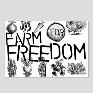 Farm for Freedom Postcards (Package of 8)