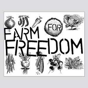 Farm for Freedom Small Poster