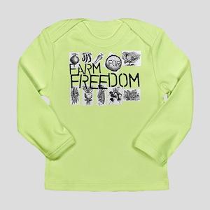 Farm for Freedom Long Sleeve Infant T-Shirt
