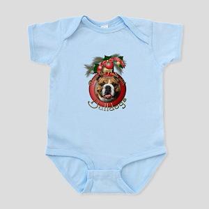 Christmas - Deck the Halls - Bulldogs Infant Bodys