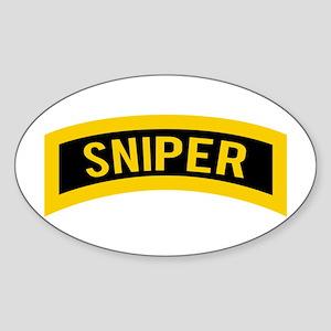 Sniper Sticker (Oval)