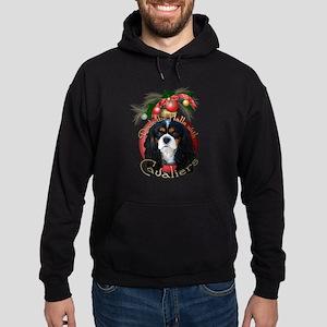 Christmas - Deck the Halls - Cavaliers Hoodie (dar