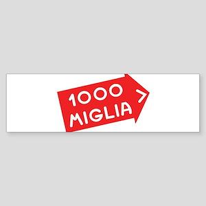1000 miglia Bumper Sticker
