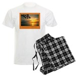 Andaman Sunset Men's Light Pajamas