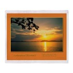 Andaman Sunset Throw Blanket