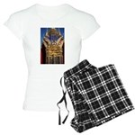 Azure Glass & Gold Women's Light Pajamas