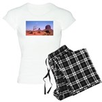 Monument Valley Struggle Women's Light Pajamas