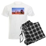 Monument Valley Struggle Men's Light Pajamas