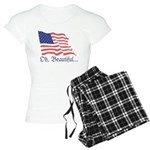 Monument Valley Dusk Women's Light Pajamas