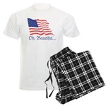 Monument Valley Dusk Men's Light Pajamas