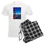 Golden Gate Bridge Men's Light Pajamas