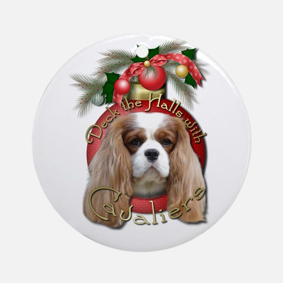Christmas - Deck the Halls - Cavaliers Ornament (R