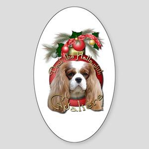 Christmas - Deck the Halls - Cavaliers Sticker (Ov