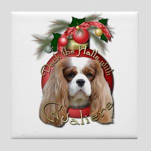 Christmas - Deck the Halls - Cavaliers Tile Coaste