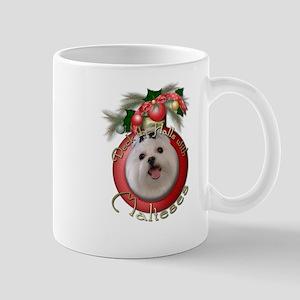 Christmas - Deck the Halls - Malteses Mug