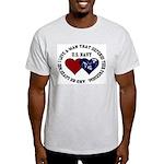 US Navy I love a man... Ash Grey T-Shirt