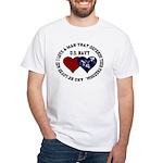 US Navy I love a man... White T-Shirt