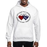 US Navy I love a man... Hooded Sweatshirt