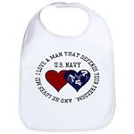 US Navy I love a man... Bib