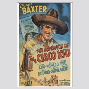 Large Return of the Cisco Kid Poster