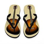 Acoustic Guitar Flip Flops