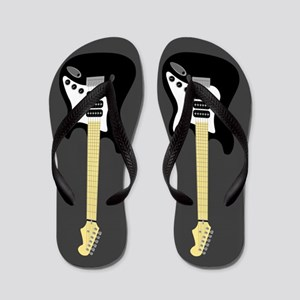 Electric Guitar Flip Flops (gray)