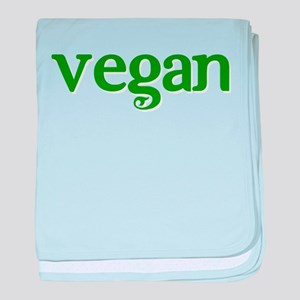 Simple Vegan baby blanket