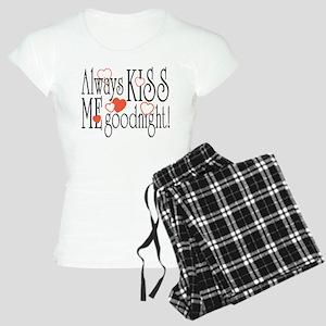 Kiss Me Goodnight Women's Light Pajamas