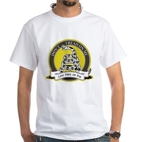 Don't Tread on Me White T-Shirt