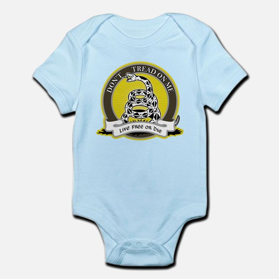 Don't Tread on Me Infant Bodysuit